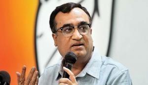 Ashok Gehlot welcomes Ajay Maken as AICC Gen Secy in-charge of Rajasthan