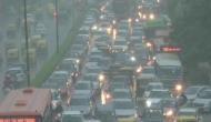 Weather Updates: दिल्ली-एनसीआर में भारी बारिश, कई इलाकों में भरा पानी, ट्रैफिक हुआ जाम
