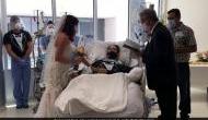 कोरोना वायरस भी नहीं रोक सकी प्रेमी जोड़ों का मिलन, दूल्हा हुआ Covid संक्रमित तो अस्पताल पहुंच गई दुल्हन