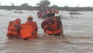 NDRF rescues 30 people stranded in flood-affected areas in Gujarat