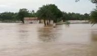 Odisha: Heavy rain triggers flood in Bhadrak district, water-level of Baitarani river rises