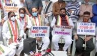 NEET, JEE Exams 2020: Telangana Congress holds protest against conduct of exams amid COVID-19
