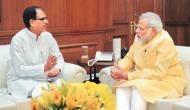 Shivraj Singh Chouhan informs PM Modi about MP flood situation