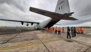 Four NDRF teams airlifted from Pune to Nagpur in view of evolving flood situation