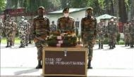 Pulwama encounter: Last rites of Sepoy Prashant Sharma held with full military honours in UP