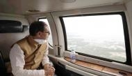 Shivraj Singh Chouhan conducts aerial survey of flood-affected areas in MP