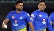 IPL 2020 CSK vs SRH: महेंद्र सिंह धोनी ने तोड़ा सुरेश रैना का बड़ा रिकॉर्ड, बाएं हाथ के बल्लेबाज ने दिया ऐसा रिएक्शन