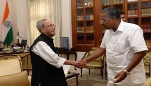 Pranab Mukherjee played significant role in upholding India's prestige at international level: Kerala CM