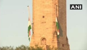 Flags at Rashtrapati Bhavan, Parliament at half-mast as nation observes 7-day mourning due to Pranab Mukherjee's demise