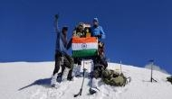ITBP mountaineers successfully climb Leo Pargil peak in Himachal