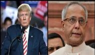Donald Trump extends condolences to ex-President Pranab Mukherjee's family