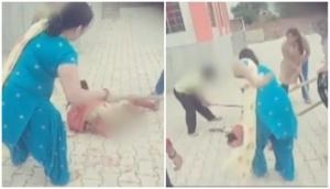 Haryana: Group of women mercilessly beat another woman with iron roads; spine chilling deets inside