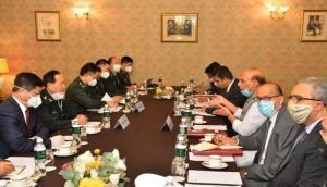 चीनी रक्षा मंत्री के साथ दो घंटे तक चली बातचीत में राजनाथ सिंह का चीन को दो टूक जवाब, 'शांति चाहते हो तो पीछे हटाओ सेना'