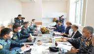 Rajnath Singh meets Kazakh, Tajik, Uzbek counterparts in Moscow