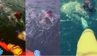 Video: समुद्र में डूबते लड़के ने फोन कर बोला मरने वाला हूं.. इसके बाद हुआ कुछ ऐसा कमाल