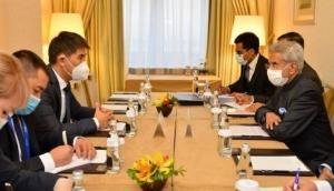 Moscow: Jaishankar meets Kyrgyz, Tajik counterparts; discusses strengthening bilateral ties