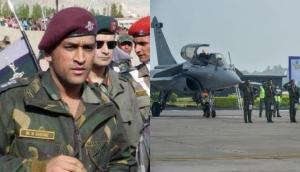 MS Dhoni hails formal induction of Rafale into IAF, lavishes praise on pilots calling them 'world's best'