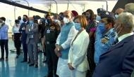Rafale induction ceremony: Rajnath, Florence Parly witness traditional 'Sarva Dharma Puja'