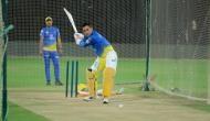 IPL 2020: अभ्यास मैच के दौरान धोनी ने मारा ऐसा छक्का, खो गई बॉल, CSK ने शेयर किया वीडियो