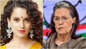 Kangana Ranaut hits out at Sonia Gandhi: Being a woman, aren't you anguished?