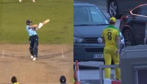 AUS vs ENG: इंग्लैंड के बल्लेबाज ने मारा इतना लंबा छक्का, स्टेडियम की पार्किंग में पहुंच गई गेंद, देखें वीडियो