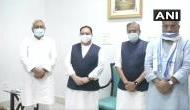 बिहार विधानसभा चुनाव से पहले बड़ी खबर, BJP अध्यक्ष जेपी नड्डा और CM नीतीश कुमार ने की मुलाकात