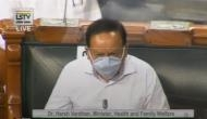 Harsh Vardhan on Coronavirus death rate: India has been able to limit deaths to 55 per million population