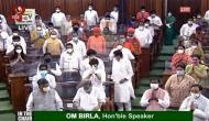 Lok Sabha adjourned for an hour after offering tributes to Pranab Mukherjee, others