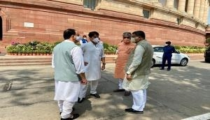 BJP holds discussion over passage of Agriculture Bills in Rajya Sabha