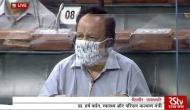 Rajya Sabha: Harsh Vardhan moves Epidemic Diseases, Amendment Bill, 2020 for consideration