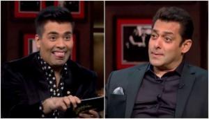 When Karan Johar trolled Salman Khan in front of Bollywood celebs