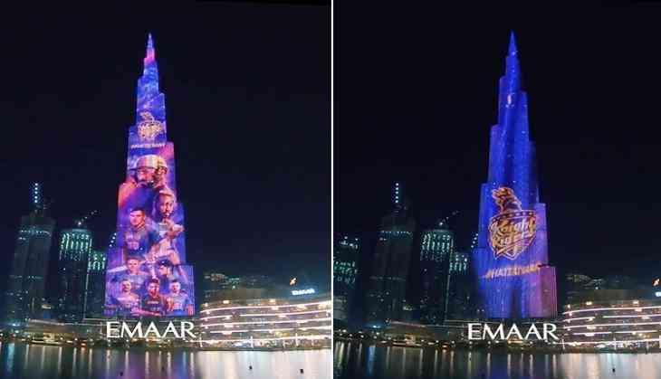 IPL 2020: Burj Khalifa lights up for KKR