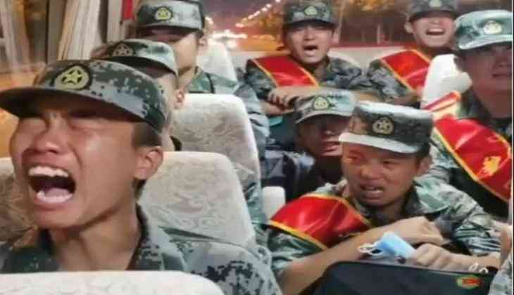 India-China border tension: Video shows PLA recruits sobbing while heading to Ladakh border to face Indian soldiers