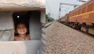 Shocking Video: 13 साल के लड़के ने मालगाड़ी के इंजन के सामने फेंक दिया डेढ़ साल का बच्चा, वीडियो में देखें फिर हुआ क्या?