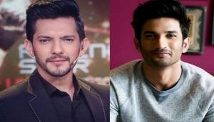 When Aditya Narayan wore a girl's frock for Sushant Singh Rajput on stage