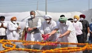 Punjab announces Rs 50 lakh for maintenance of Bhagat Singh Memorial at Khatkar Kalan