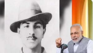 Shaheed Bhagat Singh's stories of bravery, courage will inspire countrymen for years: PM Modi