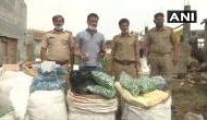 गोरखपुर : गोशाला में बनाई जा रही थी नकली शराब, 50 लाख का माल बरामद