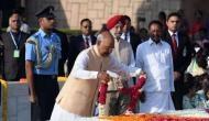 President Ram Nath Kovind pays tribute to Mahatma Gandhi on his birth anniversary