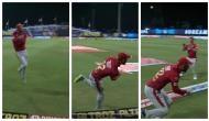 IPL 2020: ग्लेन मैक्सवेल ने बाउंड्री पर हवा में उछलते हुए पकड़ा इतना शानदार कैच, देखकर दंग रह गए रोहित शर्मा