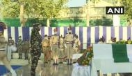 J-K: Wreath laying ceremony held for two CRPF personnel killed in Srinagar terrorist attack