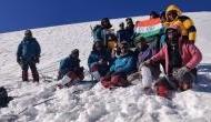 ITBP team successfully completes summit to Gangotri II peak in Uttarakhand