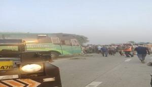 Uttar Pradesh: 3 dead, 5 injured as bus overturns in Aligarh