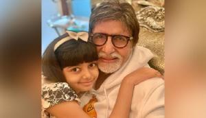 Aaradhya Bachchan's birthday wish for grandfather Amitabh Bachchan