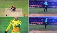 IPL 2020: धोनी के गुस्से के कारण अंपायर ने बदल लिया अपना फैसला? वाइड देने के बाद हाथ किए नीचे, देखें वीडियो