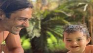 Arjun Rampal shares adorable twinning moment with son Arik