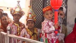 Punjab: Langoor Mela begins at Bada Hanuman Mandir in Amritsar