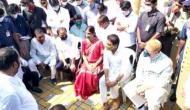 Telangana rains: Asaduddin Owaisi, KTR inspect Appa pond at Gaganpahad