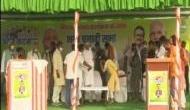 बिहार चुनाव 2020: लालू यादव की बहू ऐश्वर्या ने सरेआम छुए नीतीश कुमार के पैर, परिवार से चल रही लड़ाई