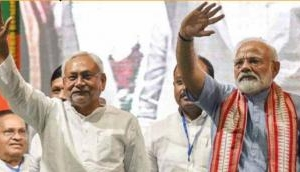 Nitish Kumar thanks PM Modi, other leaders for good wishes on taking oath as Bihar CM